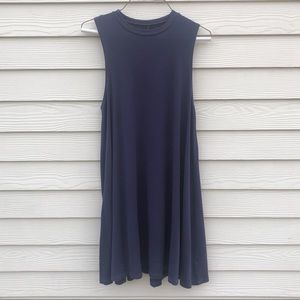 Dresses & Skirts - Purple racer back tank dress